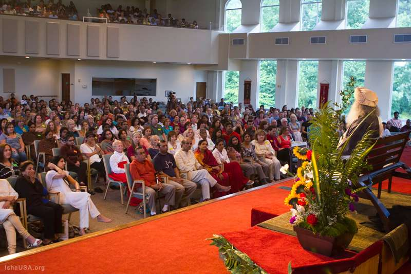 Sadhguru at Atlanta Sathsang