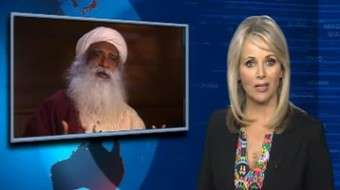 Sadhguru interviewed on ABC News