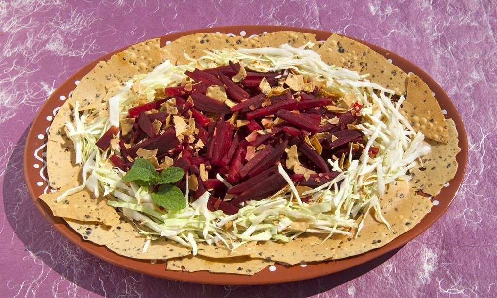 crunchy beetroot salad 1