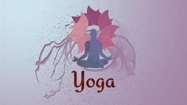 Yoga and lotus