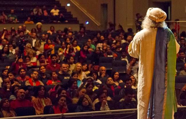 Sadhguru in New Jersey