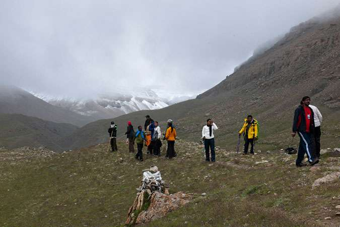 Manasarovar to South Kailash Trek