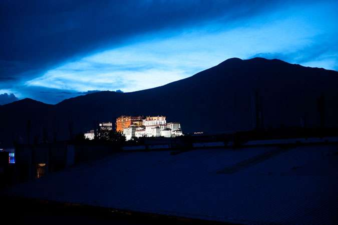 The Potala Palace - Lhasa
