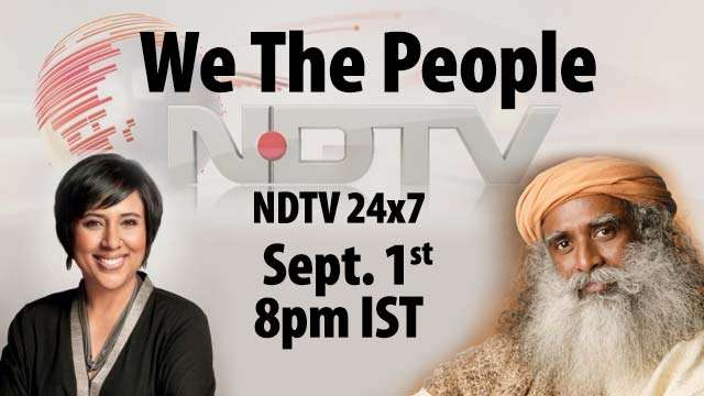 NDTV We the People