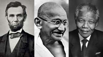 Abraham Lincoln, Mahatma Gandhi, Nelson Mandela - Qualities of a Good Leader