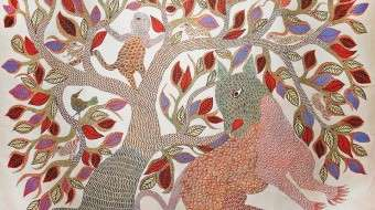 Gond painting - Tree of Life