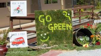 Earth Day at iii - Go Green
