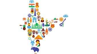 India culture map - Keeping India Together