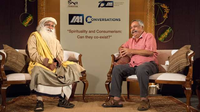 In Conversation with the Mystic - Piyush Pandey
