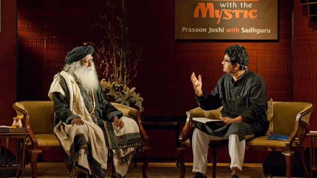 In Conversation with the Mystic - Prasoon Joshi