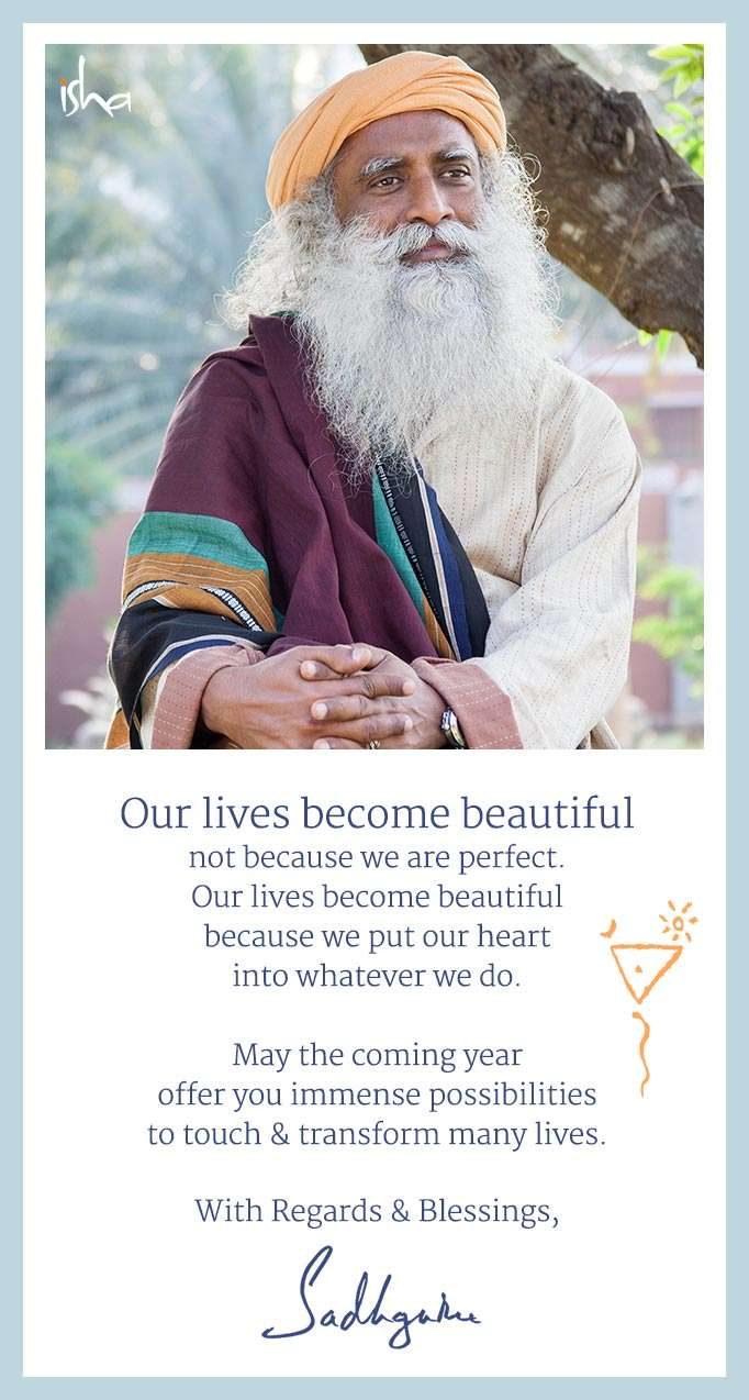 Sadhguru's New Year Message 2015