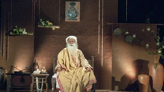 Sadhguru at the Bangalore Club