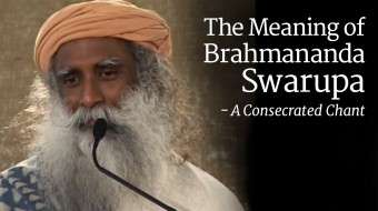 The Meaning of Brahmananda Swarupa - A Consecrated Chant
