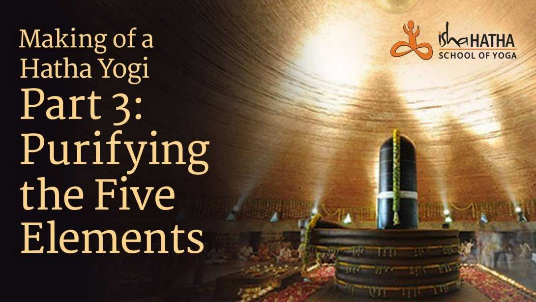Making of a Hatha Yogi Part 3 : Purifying the Five Elements
