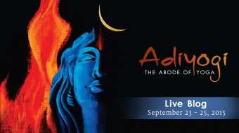 Adi Yogi - Abode of Yoga - Consecration Live Blog
