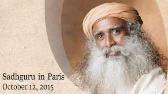 Sadhguru in Paris For Yves Rocher Summit
