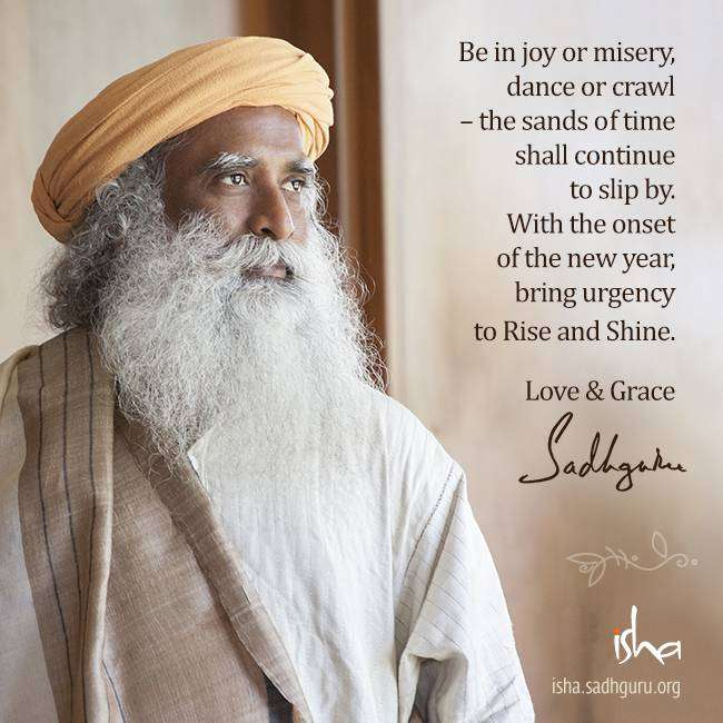 Sadhguru New Year Message 2016