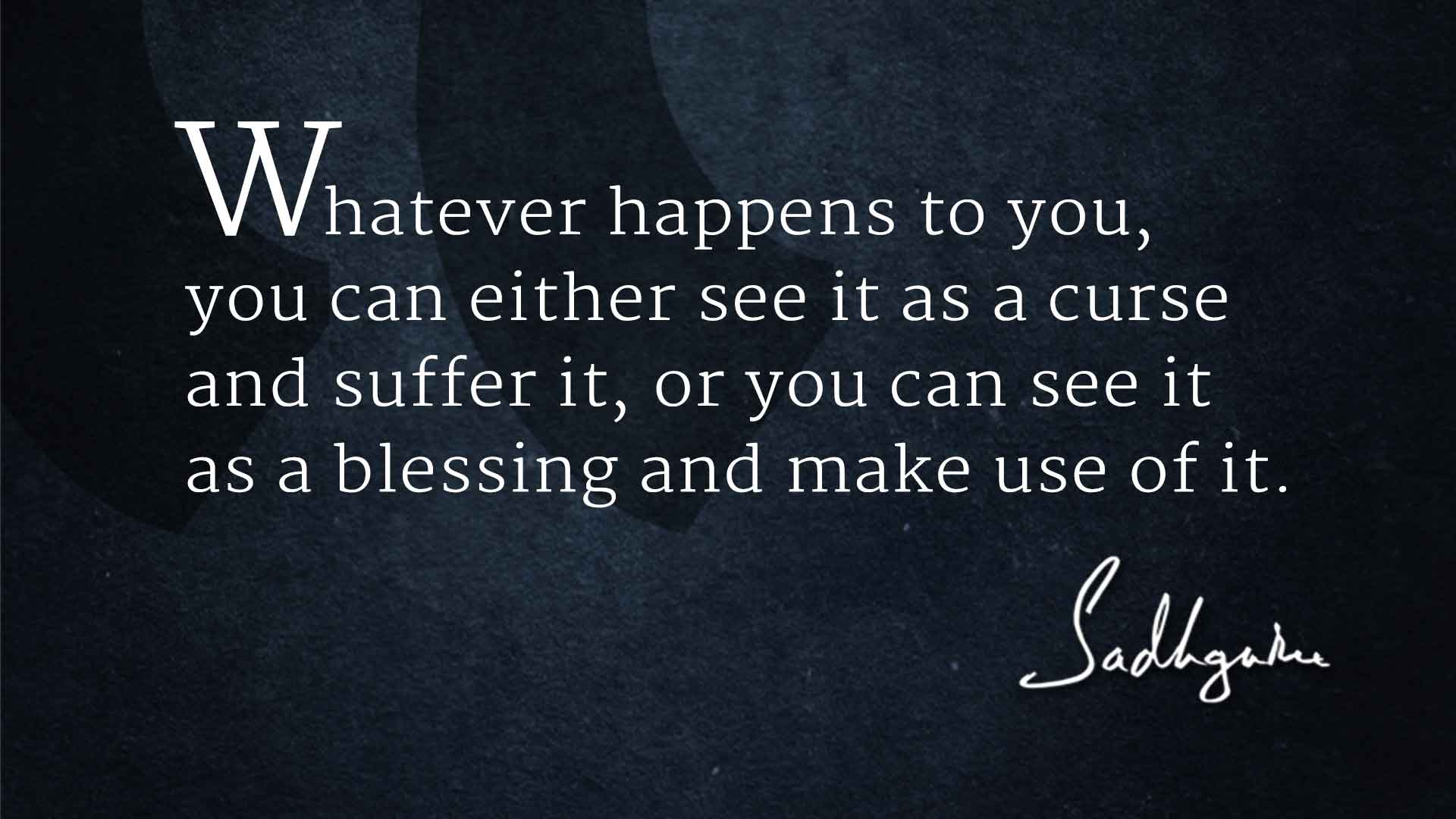 5 Sadhguru Quotes for the New Year - The Isha Blog