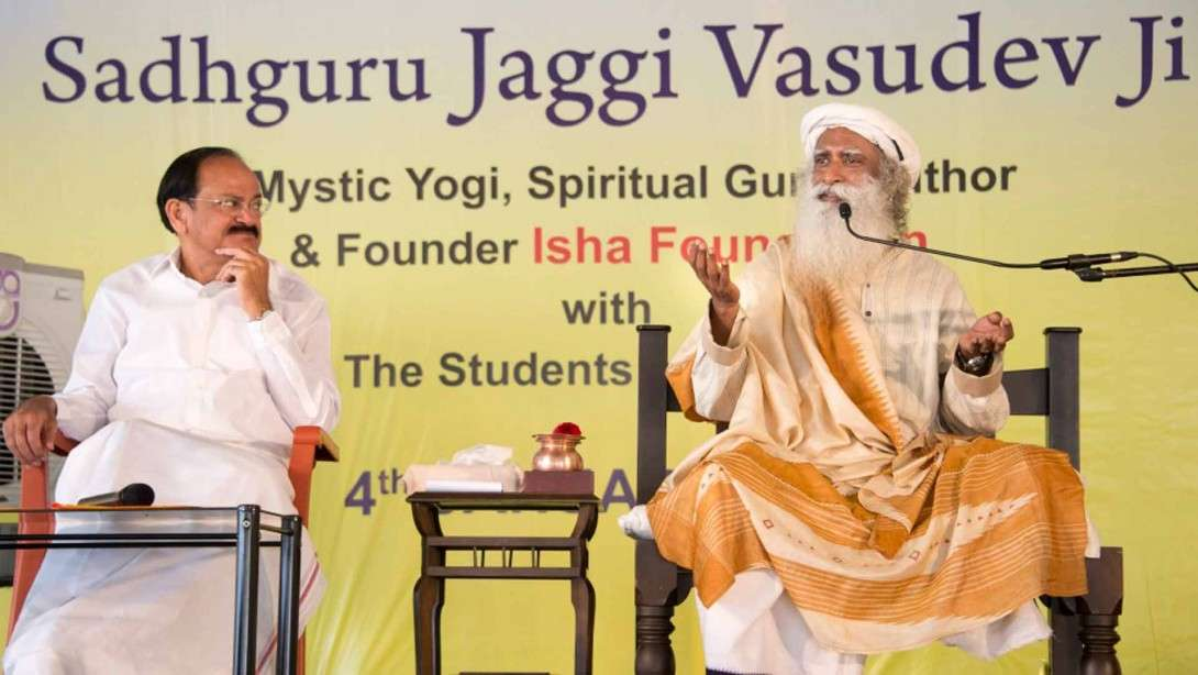 Sadhguru on Tour in Hyderabad and AP