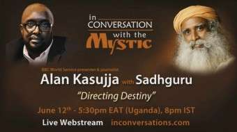 In Conversation with the Mystic - Alan Kasujja With Sadhguru