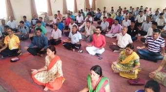Upa-Yoga Sessions in Rajasthan Schools
