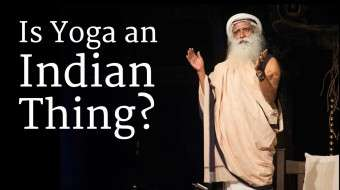 Is Yoga an Indian Thing?