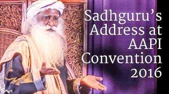 Sadhguru's Address at AAPI Convention 2016