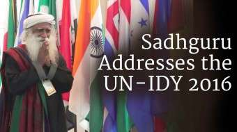 Sadhguru Addresses the UN – IDY 2016