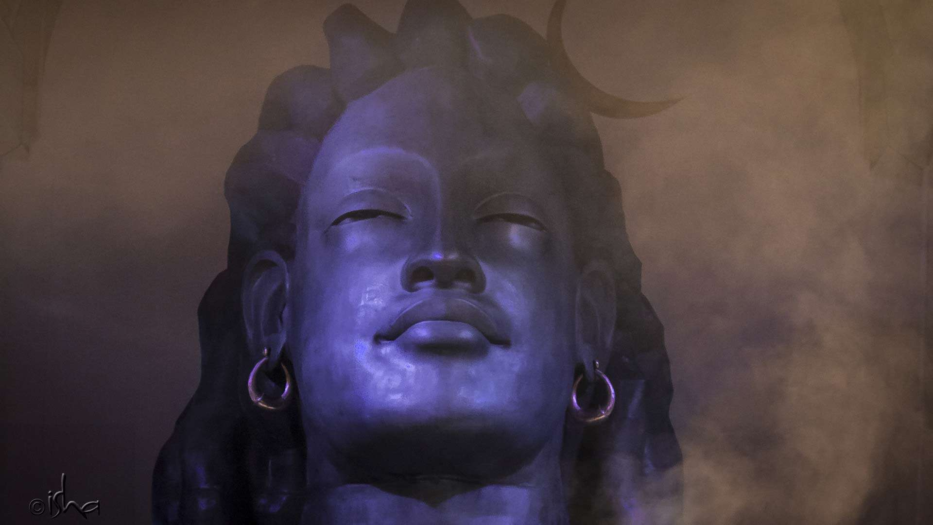 Adiyogi sculpture at the Abode of Yoga, Isha Institute of Inner-sciences, McMinnville, Tennessee, USA