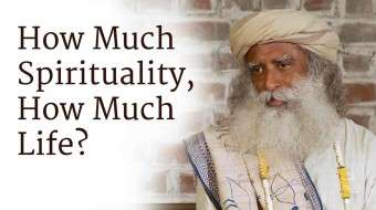 How Much Spirituality, How Much Life?