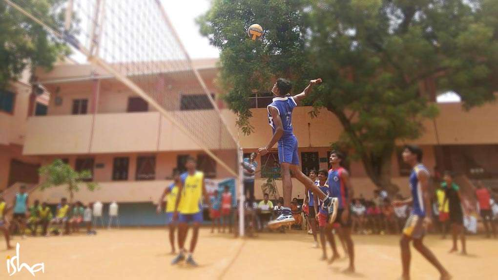 Flying high with sporting spirit