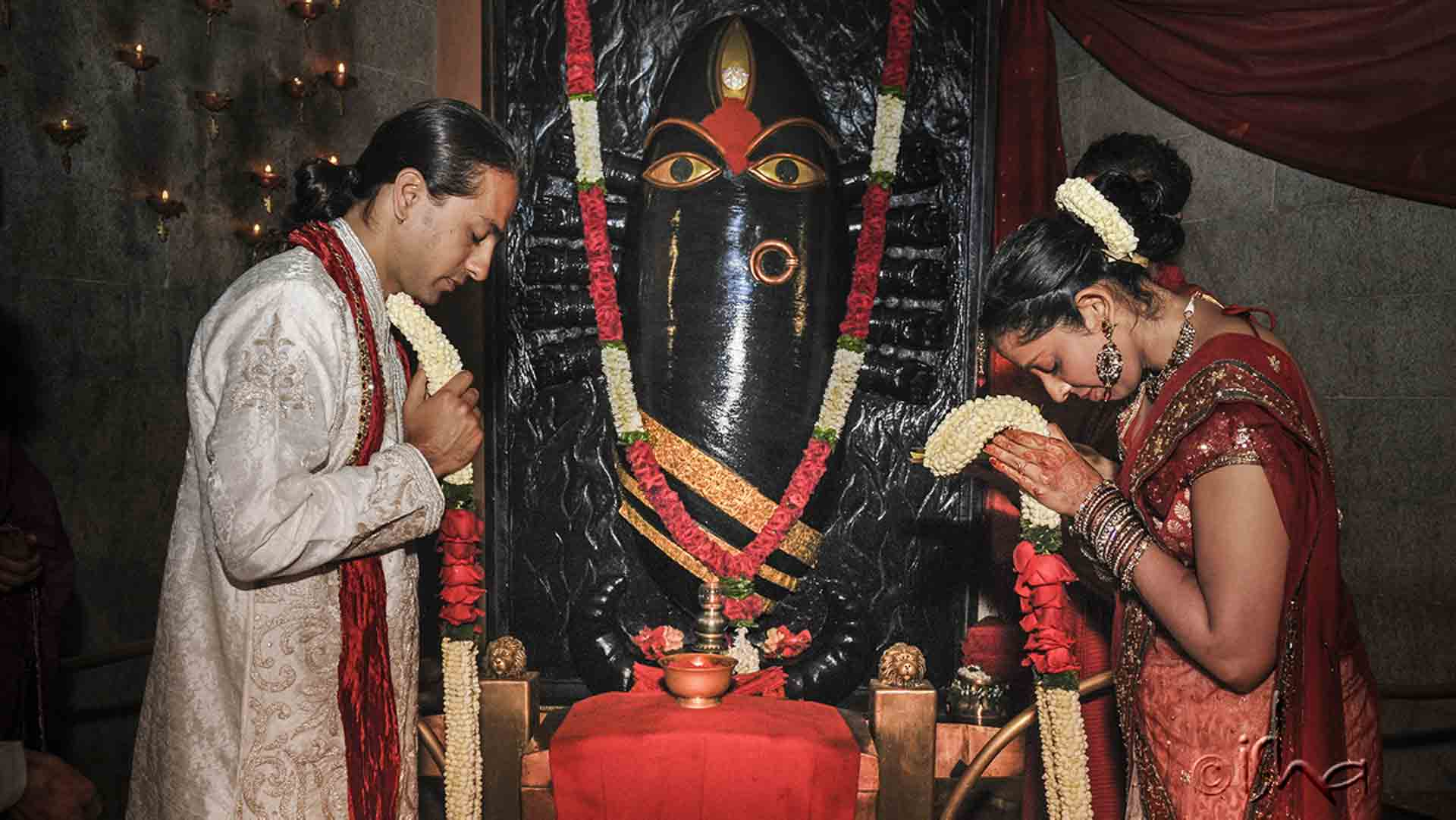 Marriage Ritual at Linga Bhairavi