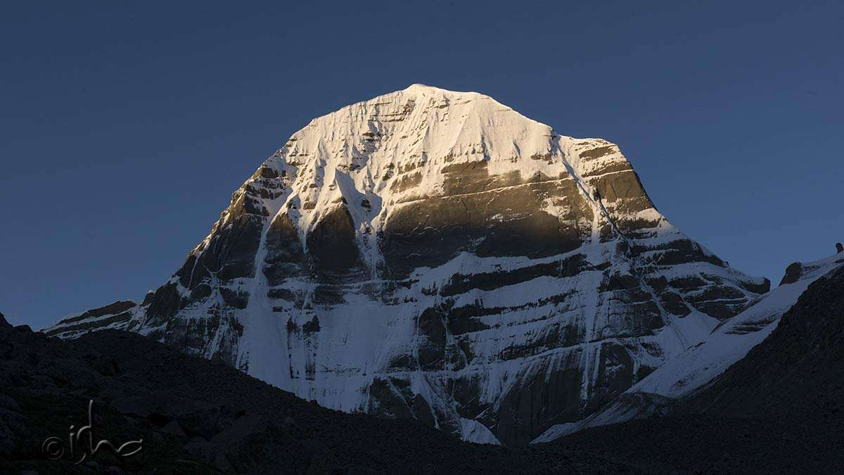 The north face of Kailash