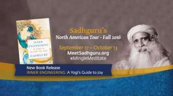 Sadhguru in North America to Launch Inner Engineering Book