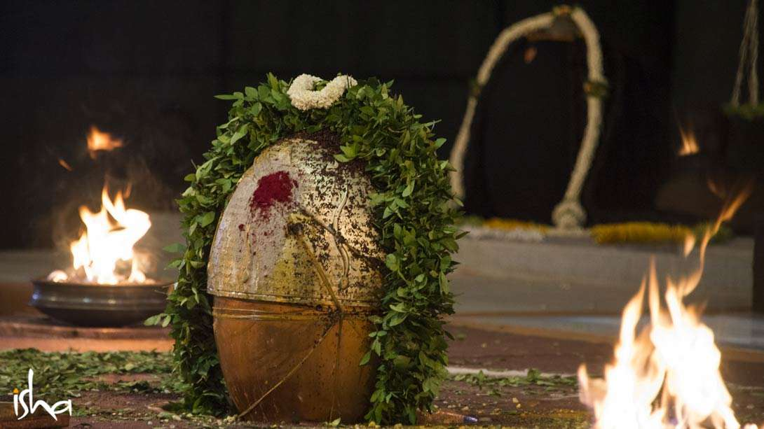 The Yogeshwar Linga has become a live energy form, designed to spread Intensity and Inclusiveness to one and all