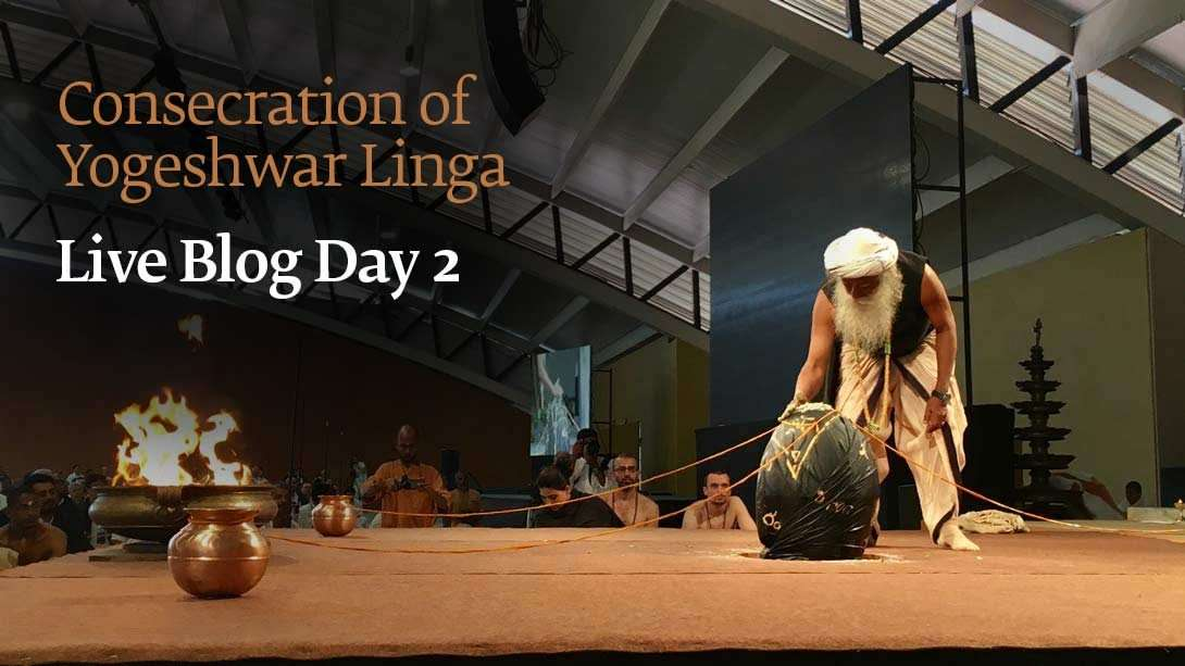 Consecration of Yogeshwar Linga: Live Blog Day 2