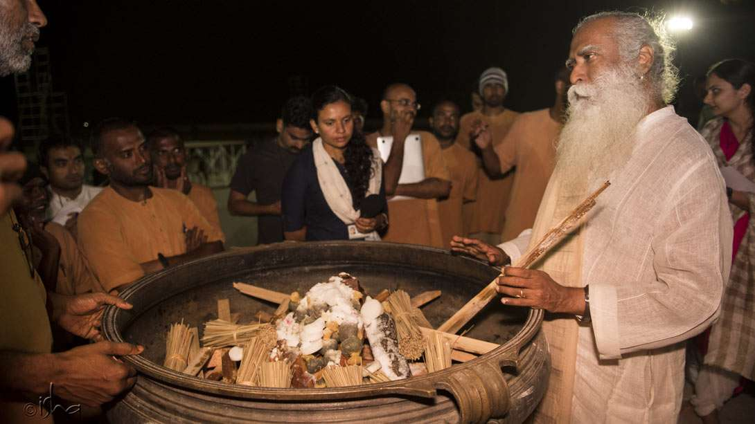Giving fuel to the fire that will light up the darkest night of the year – Mahashivratri