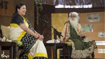 Women in Leadership: Smriti Irani in Conversation with Sadhguru