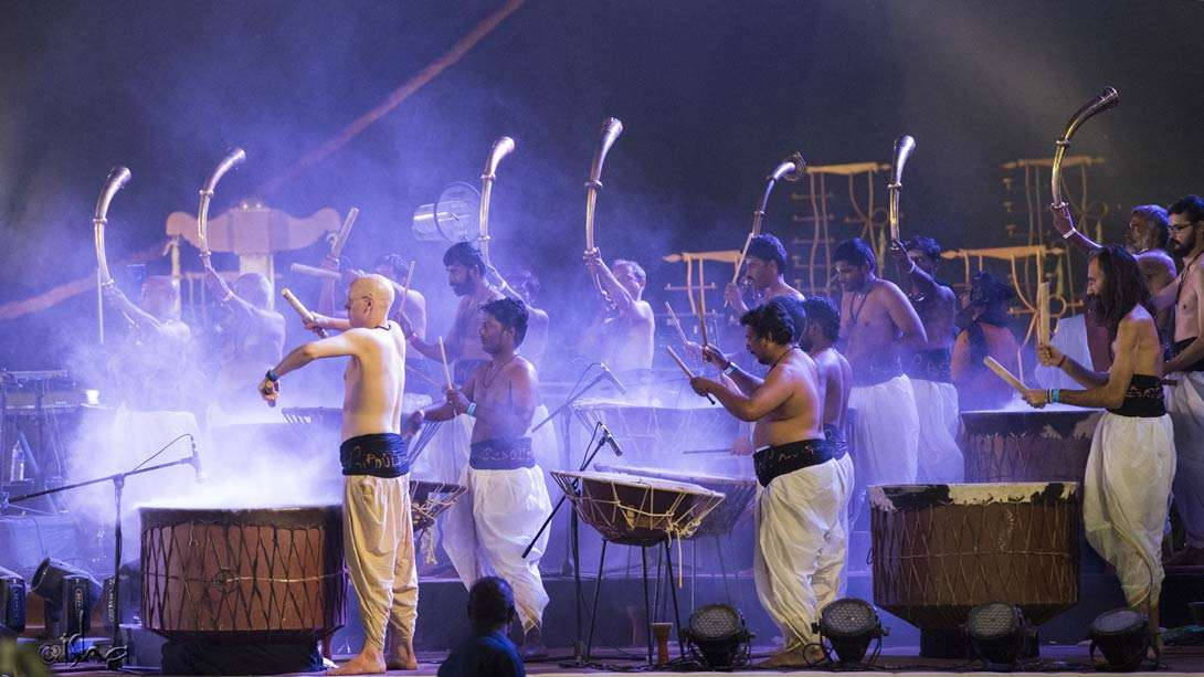 Beating the drum for Adiyogi
