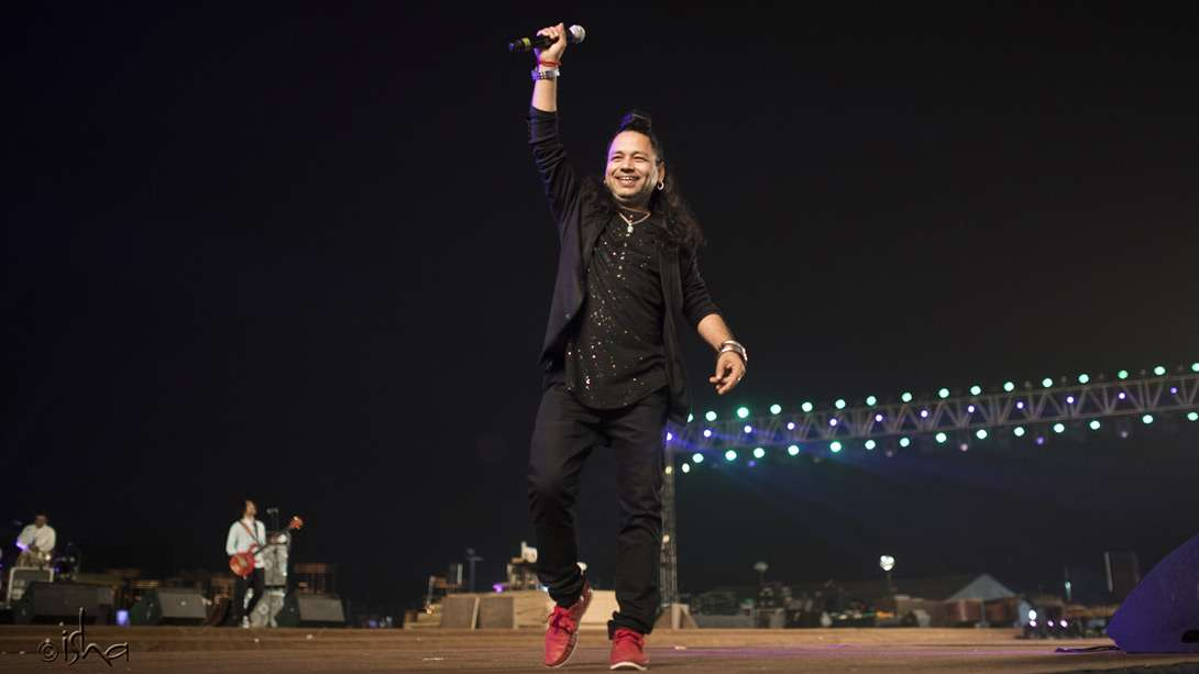 A sweeping performance by Kailash Kher