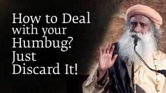 How to Deal with your Humbug? Just Discard It!