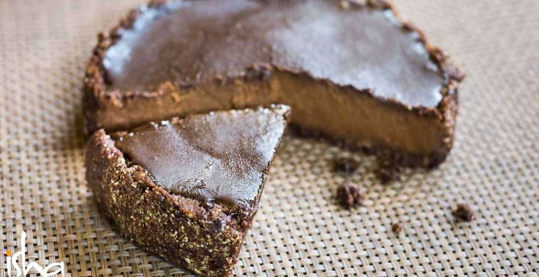 Chocolate Peanut No-Bake Pie