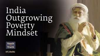 India Outgrowing Poverty Mindset
