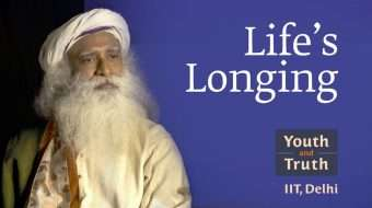 "Life's Longing: Sadhguru on ""Youth and Truth"" at IIT Delhi"