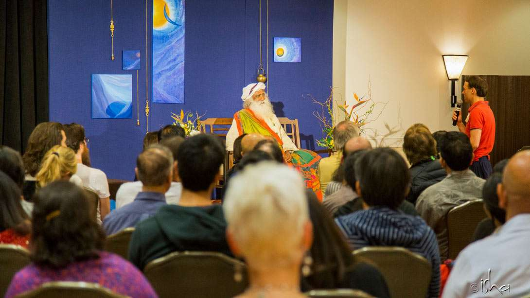 Day 1 of the Inner Engineering Retreat with Sadhguru in Carlsbad, California