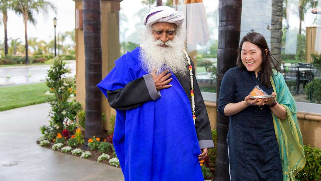 Day 3 of the Inner Engineering Retreat with Sadhguru in Carlsbad, California