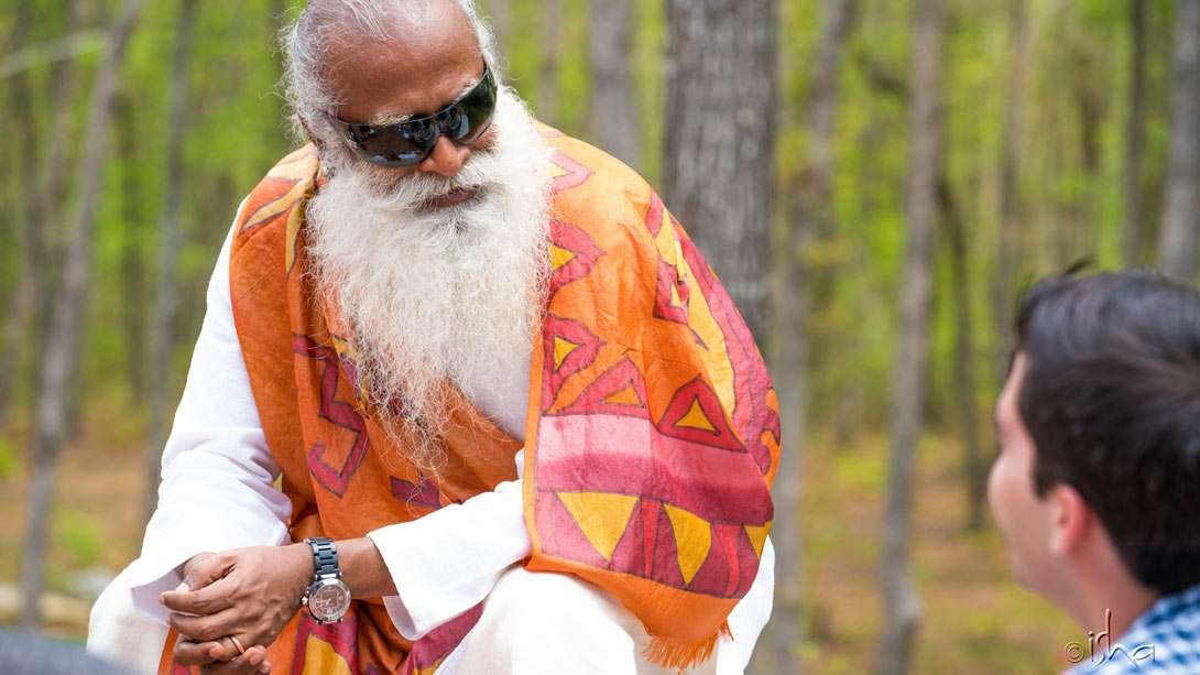 Sadhguru at the Isha Institute of Inner-sciences (iii), McMinnville, Tennessee