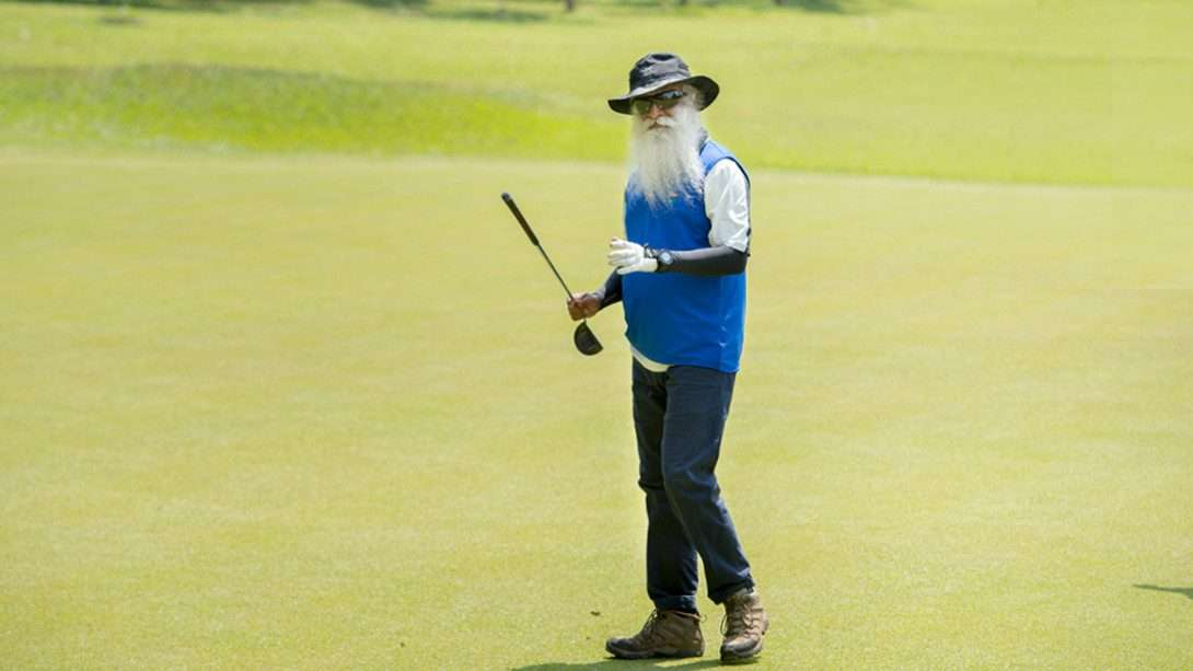 Sadhguru Playing Golf