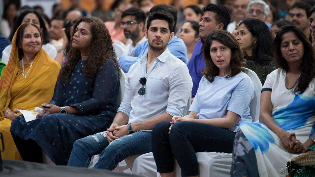 Another member of Indian cinema's who-is-who – actor Sidharth Malhotra