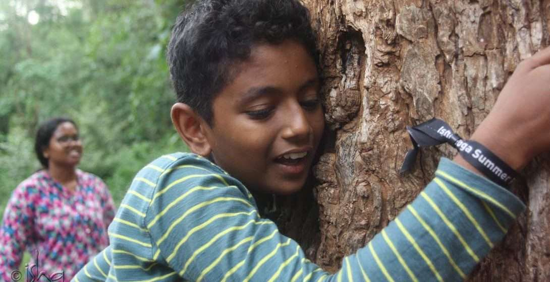 Isha Yoga Summer Program for Children: Discovering Nature